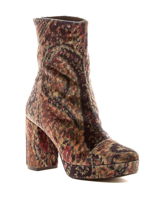 Lyst Chunky Heeled Boot