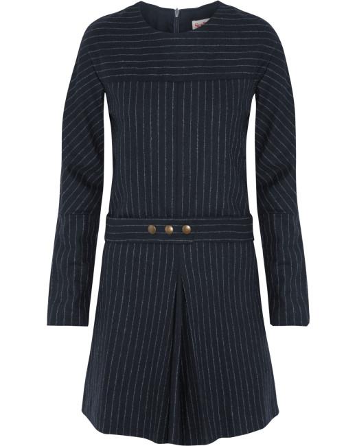 LYST-Pinstripe-Dress