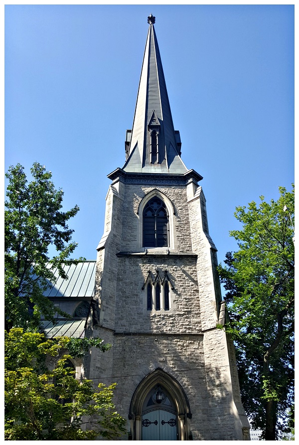 Look up to an Ottawa Church