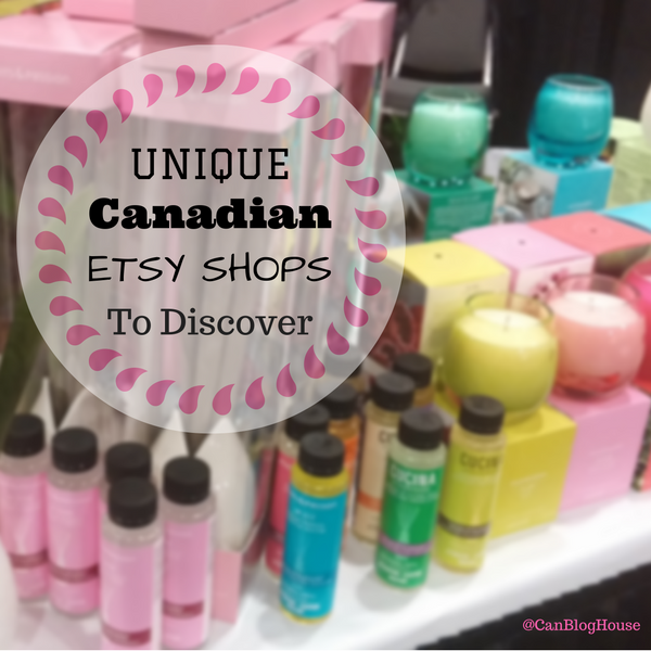 Unique Canadian Etsy Shops