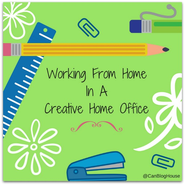Working From Home In A Creative Home Office