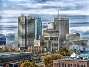 Winnipeg Manitoba Skyline