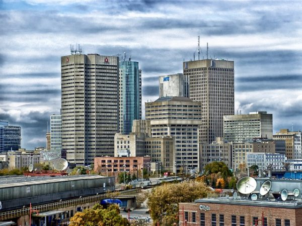 Winnipeg Manitoba Skyline