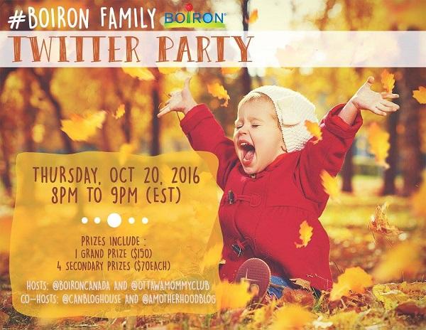 Boiron Family Twitter Party