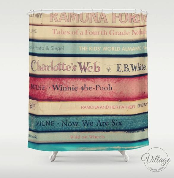 Village General Store Shower Curtain