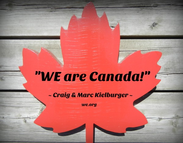 We Are CANADA WE Day
