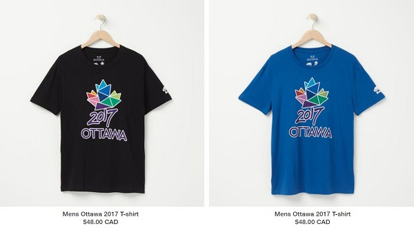 Ottawa 2017 ROOTS T-Shirts