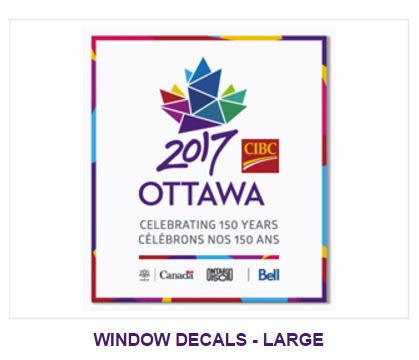 Ottawa 2017 Official Merchandise