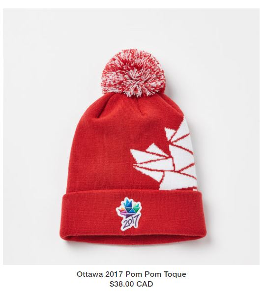Ottawa 2017 ROOTS Pom Pom Toque