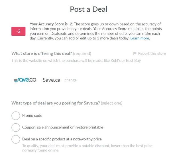 Dealspotr online deals platform