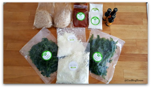 HelloFresh Carmelized Onion Pizza Ingredients