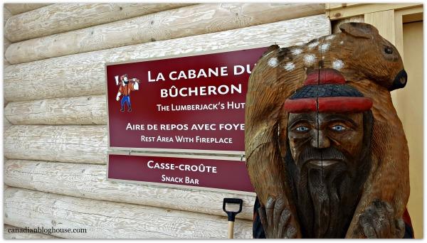 La Cabane Du Bucheron Parc Omega