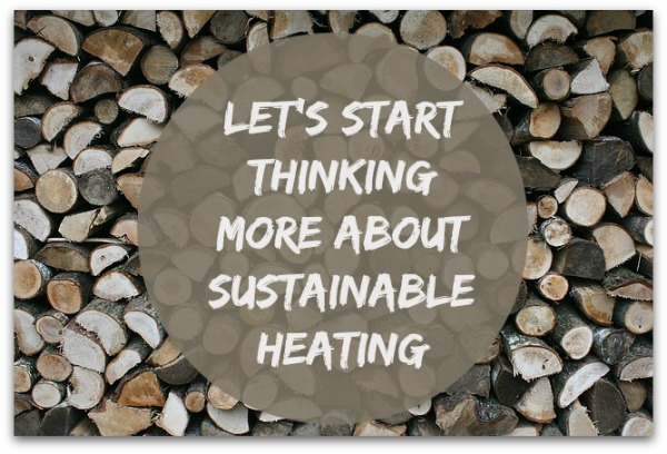 Sustainable Heating Wood Stove