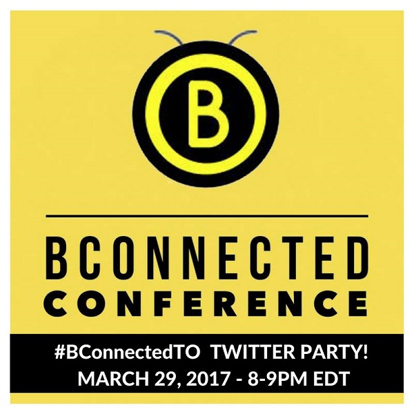 Join Us For The #BConnectedTO Twitter Party! March 29th 8-9PM