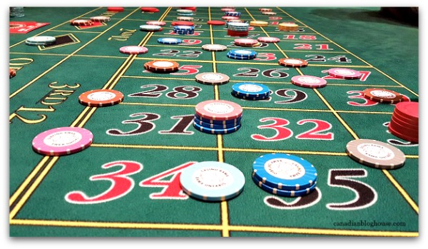 Ontario's Casino Rama Casino Roulette table at Casino Rama Resort