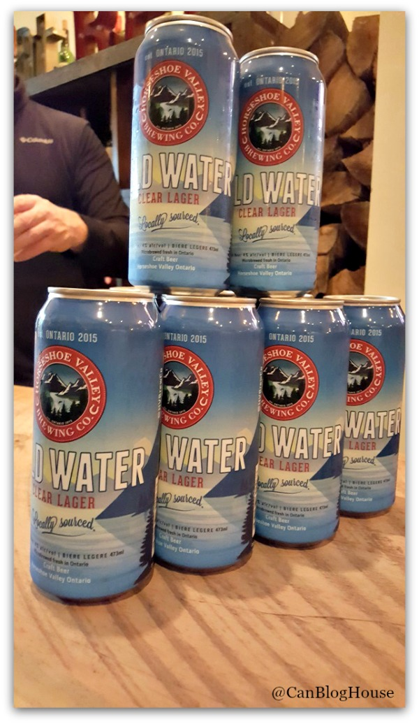 Horseshoe Valley Cold Water Clear Lager