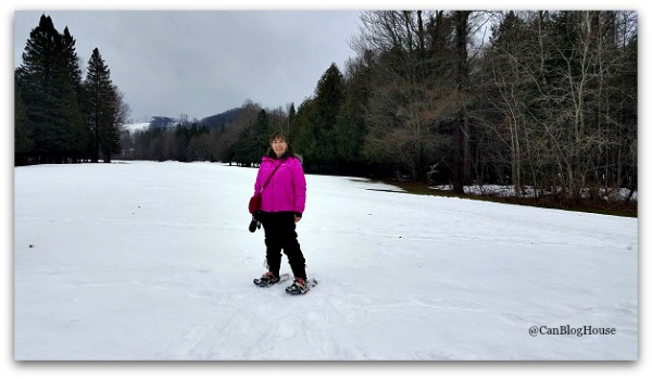 Snowshoeing Horseshoe Valley Resort