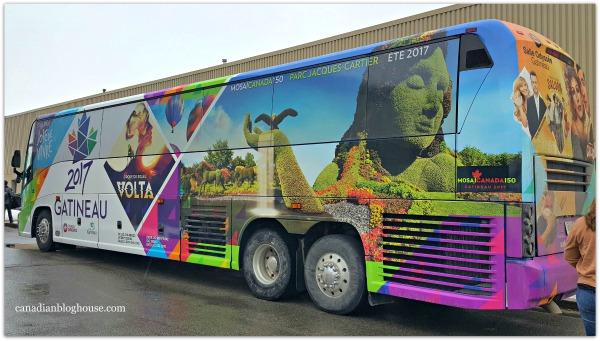Outaouais Tourism Gatineau 2017 Tour Bus