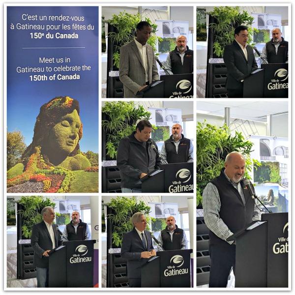 Mosai Canada 150 Press Conference