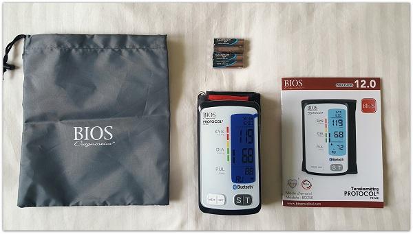 Bios Protocol 7D MII Blood Pressure Monitor