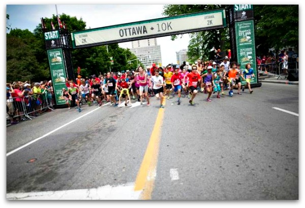 Ottawa Race Weekend - Biggest Marathon Event