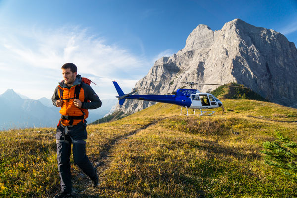 Breakaway Experiences Rocky Mountain Backcountry Heli-Hiking