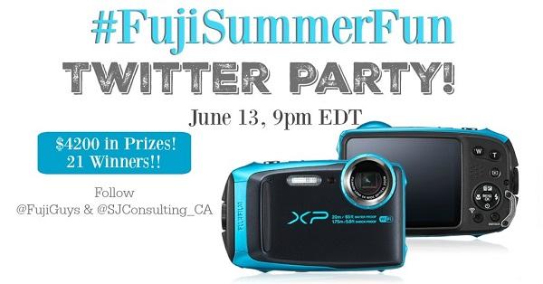 #FujiSummerFun Twitter Party