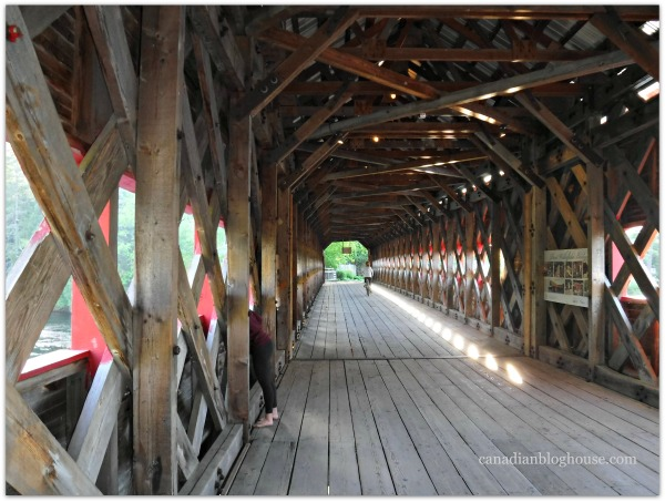 Wooden Bridge Wakefield Quebec Fujifilm FinePix XP120