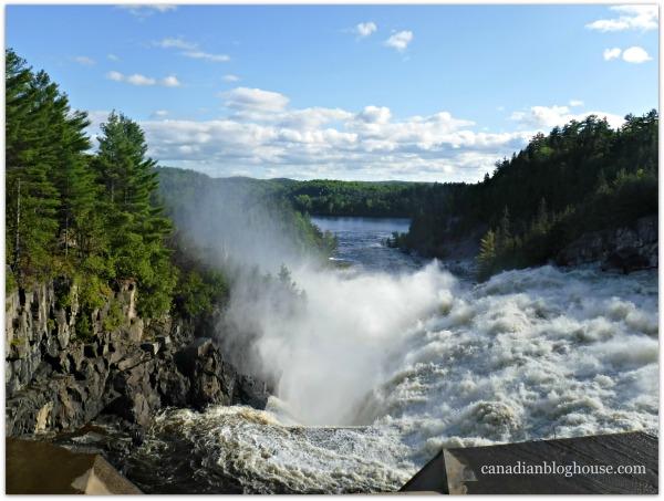 Paugan Dam Quebec
