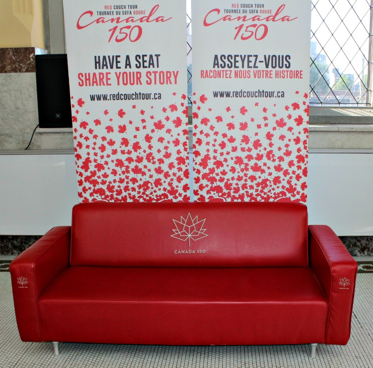 Red Couch Tour Canada 150