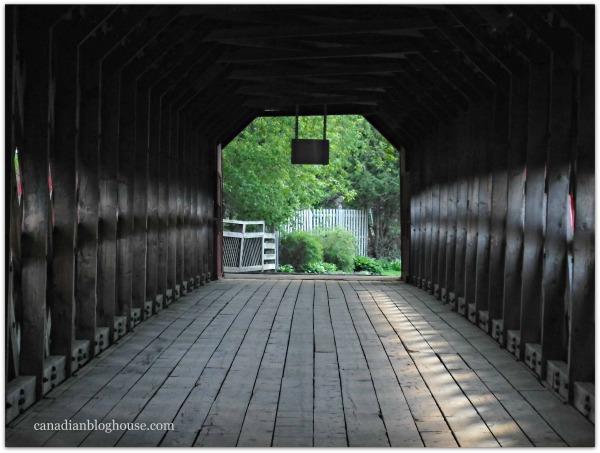 Wooden Bridge Wakefield Quebec Fuji FinePix XP120