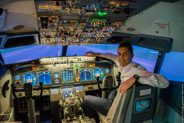 Breakaway Experiences Montreal Flight Simulator