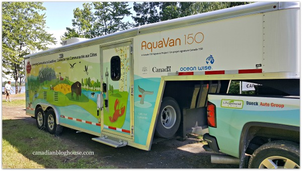 Aqua Van 150 Rolls Into Ottawa For A Shoreline Cleanup #Canada150
