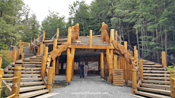 Parc Omega Wolves Bears