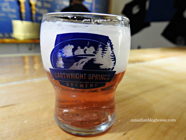 Cartwright Springs Brewery Ontario Highlands small towns in Ontario