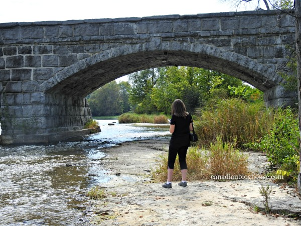 Ontario's Highlands Five Span Stone Bridge Small Towns in Ontario