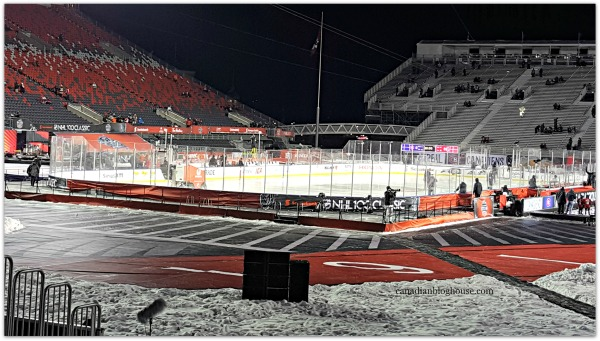 NHL 100 Classic Outdoor Hockey Game