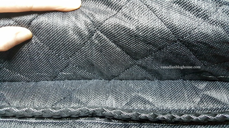 Stitching on Logan and Cove luxury mattress