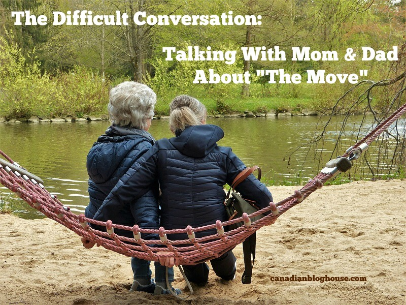 Mom and Daughter sitting on bench having difficult conversation