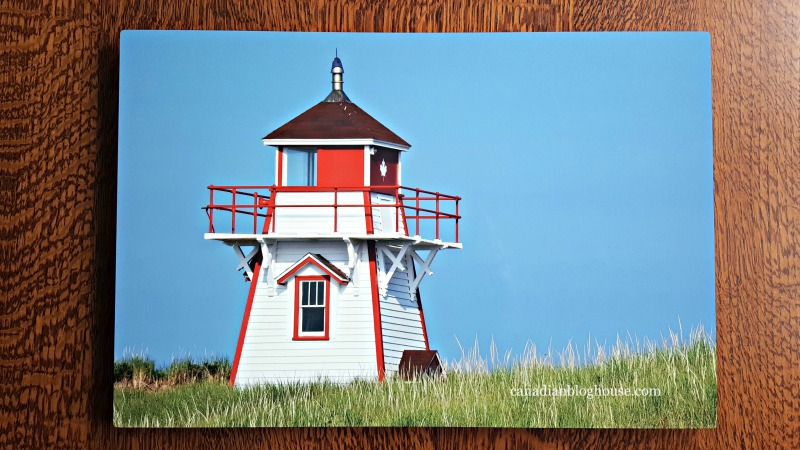 Metal Print of PEI Lighthouse from Posterjack that will make mom's day