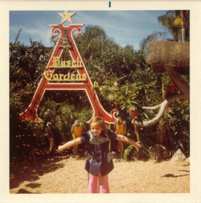 Laura Byrne Paquet Busch Gardens Road Trips