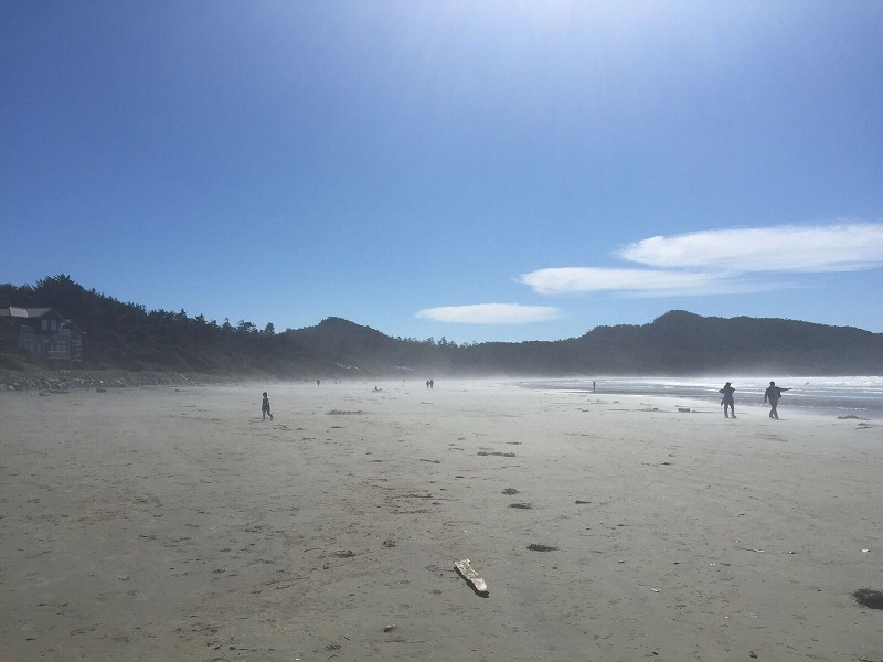 Magical Cox Bay Tofino with sea spray mist_preview
