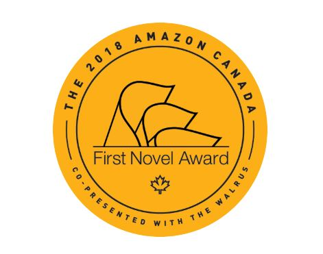 Amazon Canada First Novel Award celebration logo