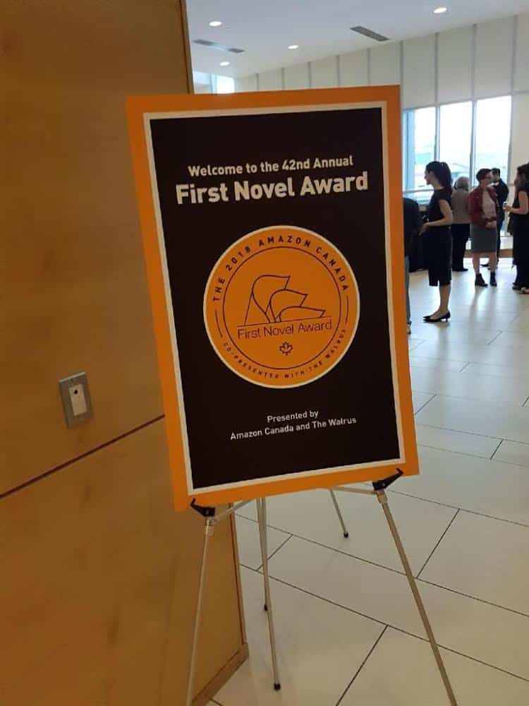 Amazon Canada First Novel Award celebration
