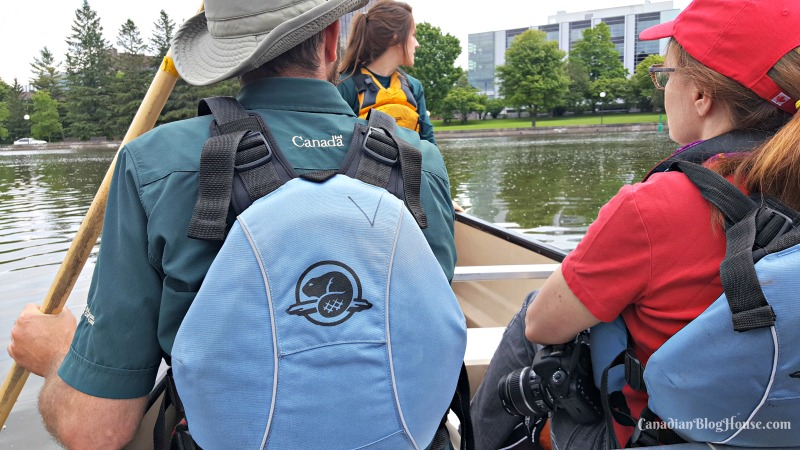 Voyaging down the Rideau Canal