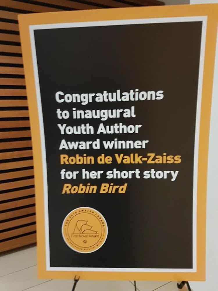 Amazon Canada First Novel Award celebration Toronto