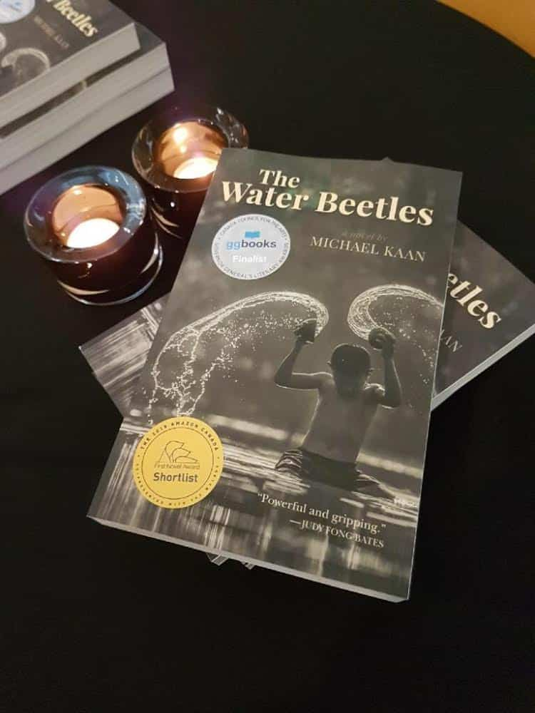 Amazon Canada First Novel Award celebration The Water Beetles