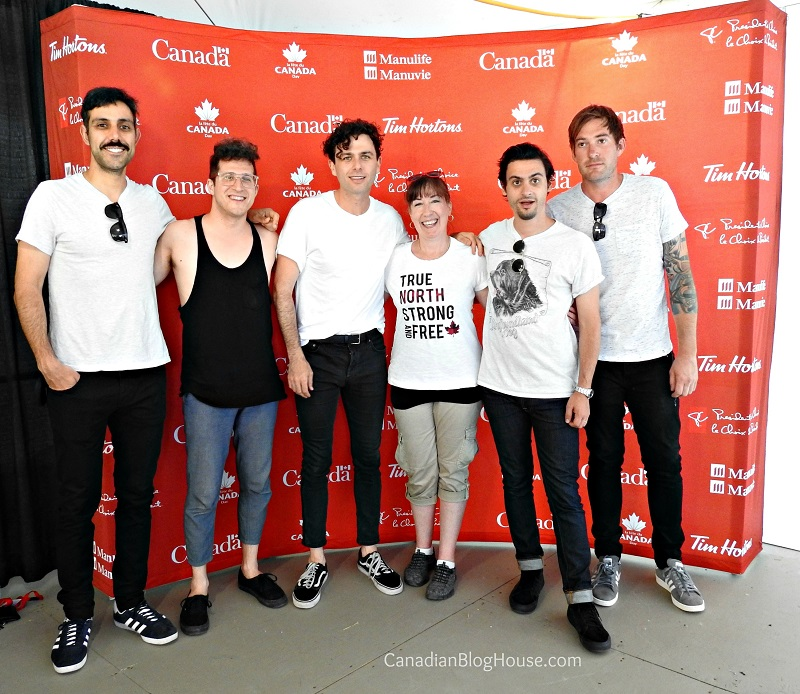evening with the Arkells on Parliament Hill