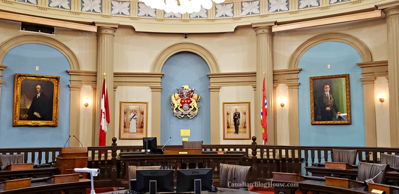 Council Chambers at City Hall in Historic Downtown Kingston