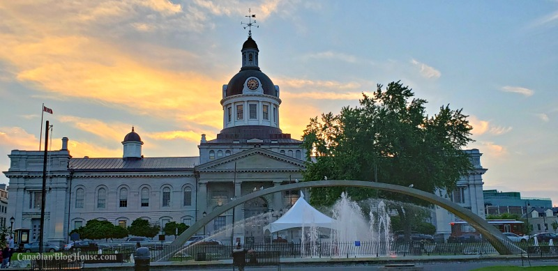 City Hall sunset in Historic Downtown Kingston